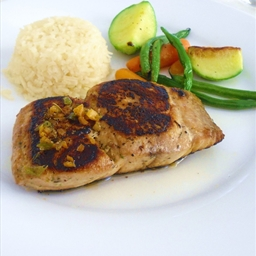 Tuna Steak Au Poivre