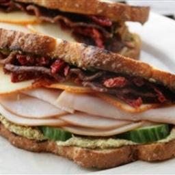 Turkey Bacon Summer Sandwich