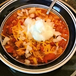 Turkey Chili With Heat