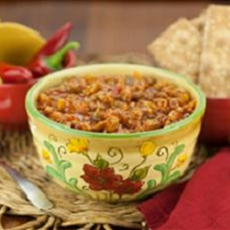 Turkey Chili with Pinto Beans