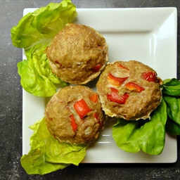 Turkey Meatloaf Muffins (DailyBurn Ignite)
