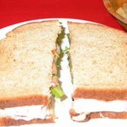 Turkey Mediterranean Sandwich