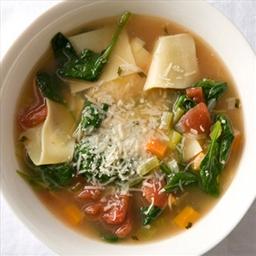 Tuscan Turkey Soupy Noodles