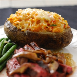 Twice Baked Pimento Cheese Potatoes