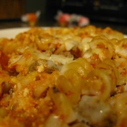 Unlayered Lasagna Pasta Bake