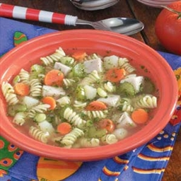 Chunky Turkey Vegetable Soup