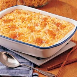 Apricot Cheese Kugel