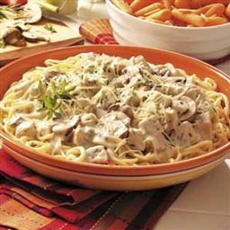 Turkey Portobello Pasta