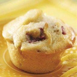 Rhubarb Lemon Muffins