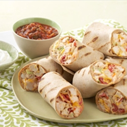 Mexican Grilled Chicken Wrap