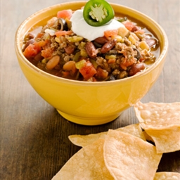 Taco Soup- from Paula Deen, links to her website