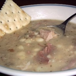 US Navy Bean Soup