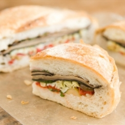 Vegan Portobello Muffuletta