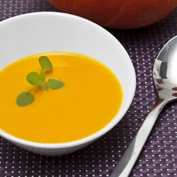 Vegan Pumpkin Coconut Soup Recipe