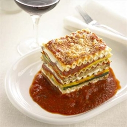 Vegetable Lasagna with Goat Cheese