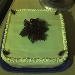 Very Berry Christmas Cake