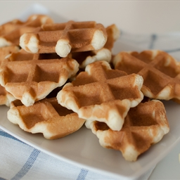 Waffle Iron Butter Cookies