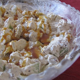 Weight Watchers (1/2 cp. 2 pts.) Caramel Apple Salad