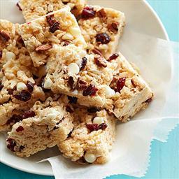 White Chocolate-Cranberry Crispy Treats