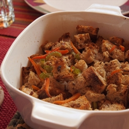 Whole Wheat Dressing with Wild Rice