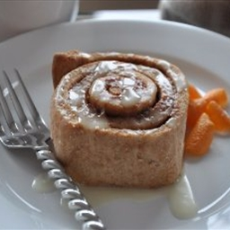 Whole Wheat Orange Cinnamon Rolls