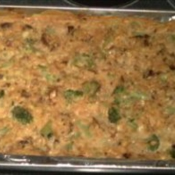 Worlds' Best Broccoli Rice Cheese Casserole