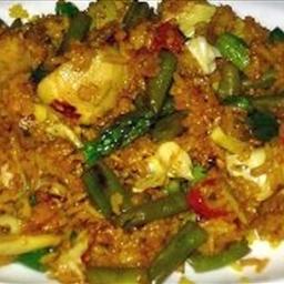 Yucas Vegetarian Paella