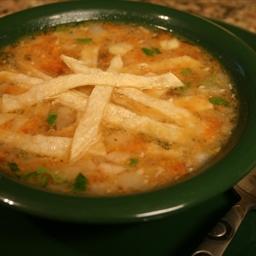 Yucatan Chicken-Lime Soup