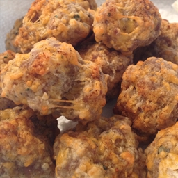 Zesty Sausage And Cheese Balls