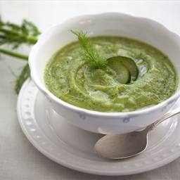 Zucchini and Fennel Cream Soup