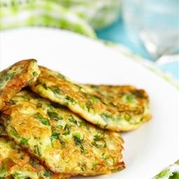 Zucchini Pancake Breakfast Stacks (Paleo)