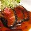 Ahi Tuna, Blackened with Soy Mustard Sauce and Beurre Blanc (Boom)