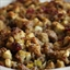 Apple, Sausage,  and Leek Stuffing