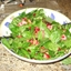 Apple, Walnut, and Mixed Greens Salad with Zinfandel-cranberry Vinaigrette