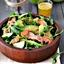 Arugula Salad With Smoked Salmon (lime sesame dressing)