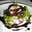 Baked Goat Cheese with Garden Salad