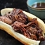 Balsamic Roast Beef French Dip Sandwich