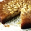 Banana and cardamom upside-down cake