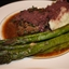 Beef- Herb-crusted with Zinfandel-Shallot Sauce