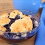 Blueberry Cobbler for Dutch Oven