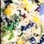 Blueberry Mango Quinoa Salad with Lemon Basil Dressing