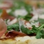 Bone Suckin' Fig, Prosciutto, and Arugula Pizza