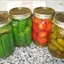 "Bottled Vinegar Peppers (by Carmela ""Cee"" Stanco)"