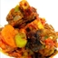 Braised Chilli Ginger Lamb Shank with Pumpkin