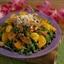 Brazilian Pork Salad with Tangerine Vinaigrette