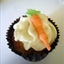 Carrot Cupcakes with Ginger-Cream Cheese Icing