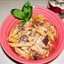 Chicken N mushroom w/Vodka Cream Sauce