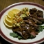 Chili Crusted Flank Steak with Mango Salsa