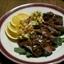 Chili Crusted Flank Steak with Mango Salsa