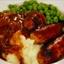 Chipotle Cheddar Chicken Bangers & Mash